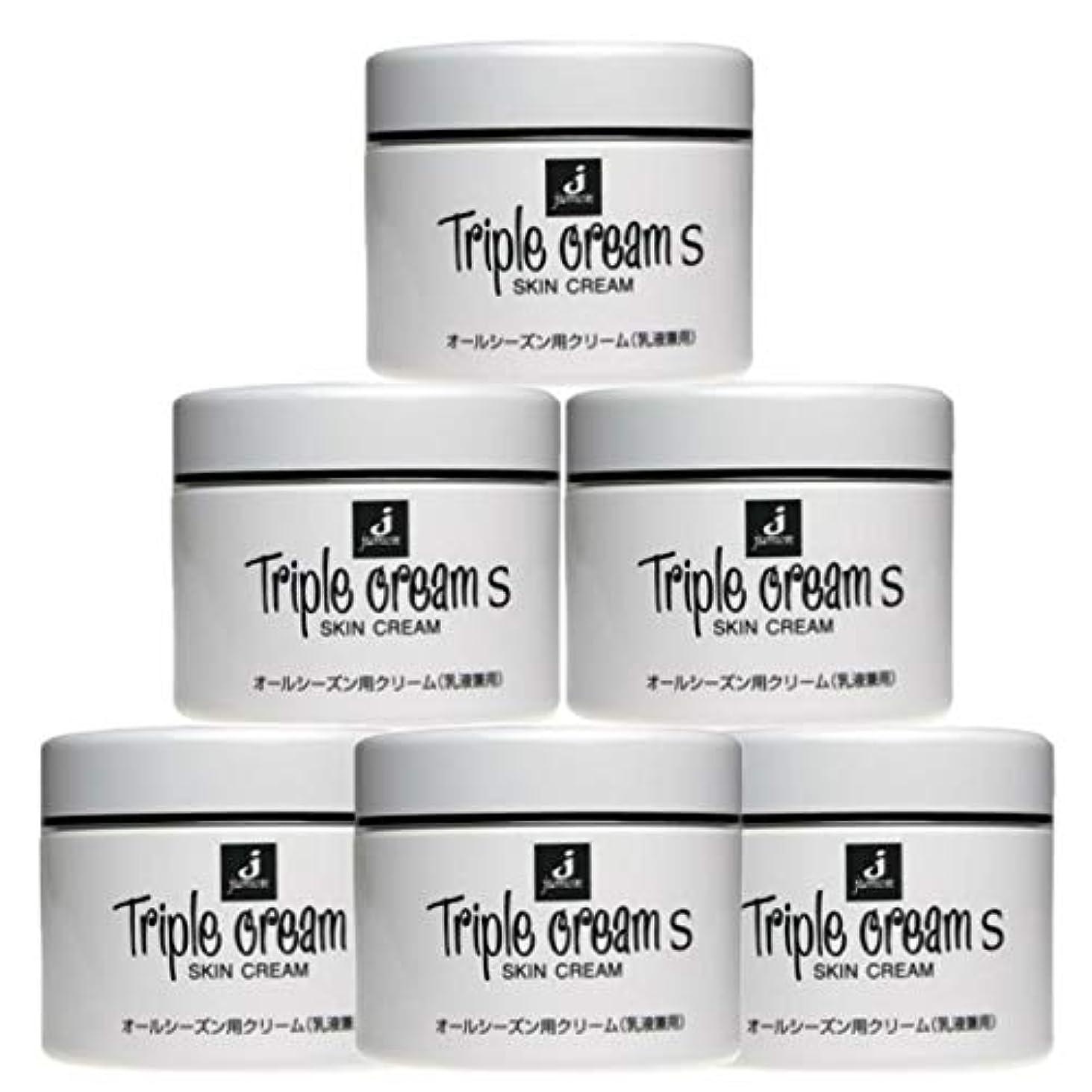 従事する男らしさのみジュモン化粧品 トリプルクリームS 215g(6個セット)
