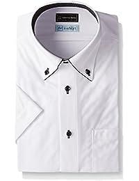 (ピーエスエフエー) P.S.FA(ピーエスエフエー) i-shirt 完全ノーアイロン 半袖ボタンダウンアイシャツ スリムモデル