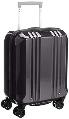 [エー・エル・アイ] A.L.I スーツケース デカかる2 /44cm 22L 2.2Kg 機内持込サイズ ダブルキャスター TSAロック付 MM-5555 BK (ブラック)