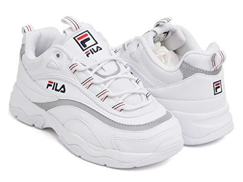 (フィラ) FILA RAY WHITE/SILVER f5054-1165-fba 26.5(8H) US