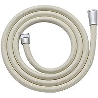 カクダイ(KAKUDAI) シャワーホース 取付簡単 ほとんどのメーカーに対応 2.0m 3676C クリーム