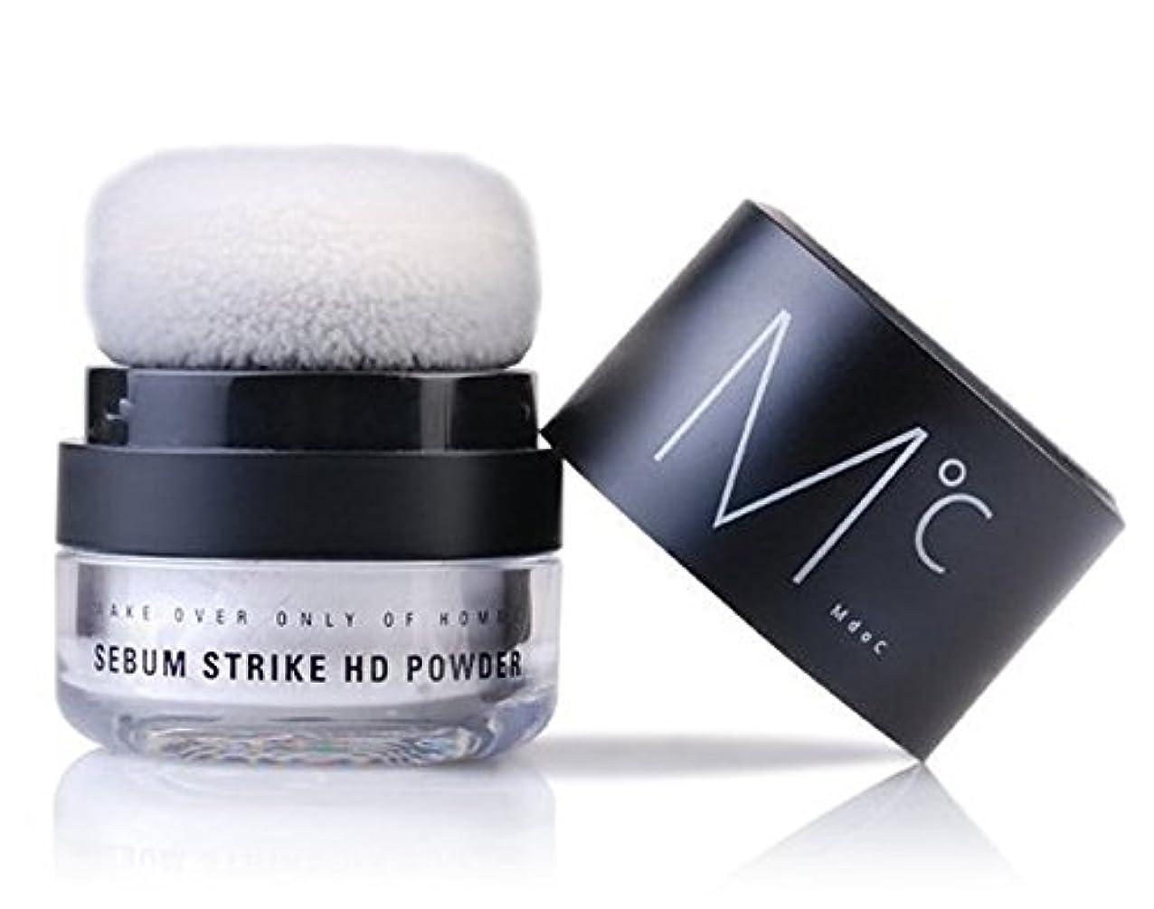企業で付添人[エムドシ] シーバム ストライキ パウダー, 脂性, すべすべ顔, 男性用 パウダー, MDOC Sebum Strike HD Powder to be Dry and Smooth for Man's Face 4g...