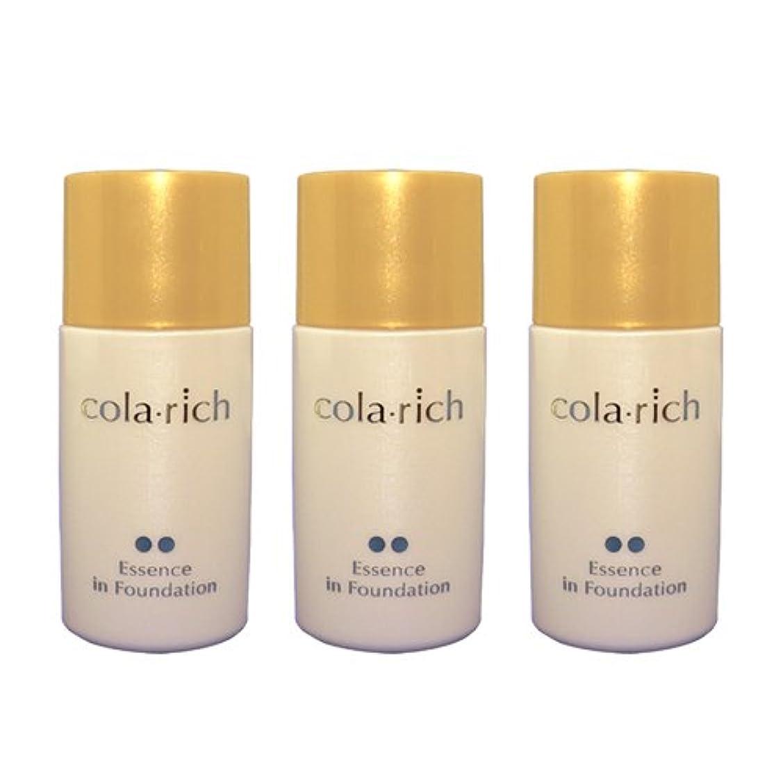 管理石膏実質的にコラリッチ 美容液ファンデーション 3個まとめ買い (健康肌用)/キューサイ