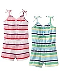OLD NAVY ボーダー コンビネゾン 【ピンク?ブルー】 【4歳~5歳】 (並行輸入品)