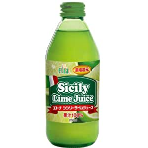 エトナ 100% シシリーライムジュース 250ml