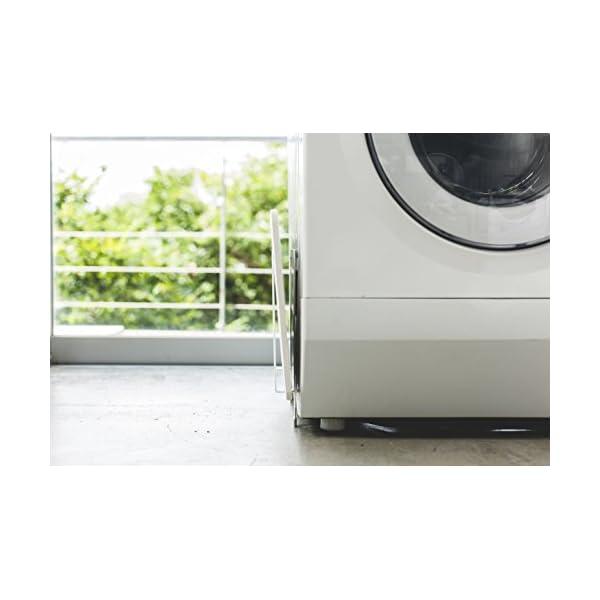 山崎実業 マグネット 洗濯機横 珪藻土バスマッ...の紹介画像4