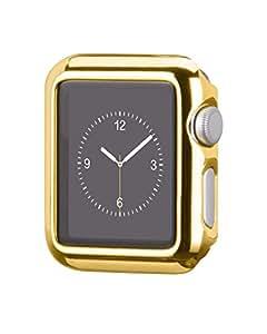 HOCO Apple Watchケース メッキ加工 全4色(42mm, ゴールド)
