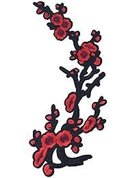 SONONIA 刺繍パッチ 飾り パッチ レース 花柄 アップリケ 縫製用品 刺繍飾り 工芸品 全7色 - パターン3
