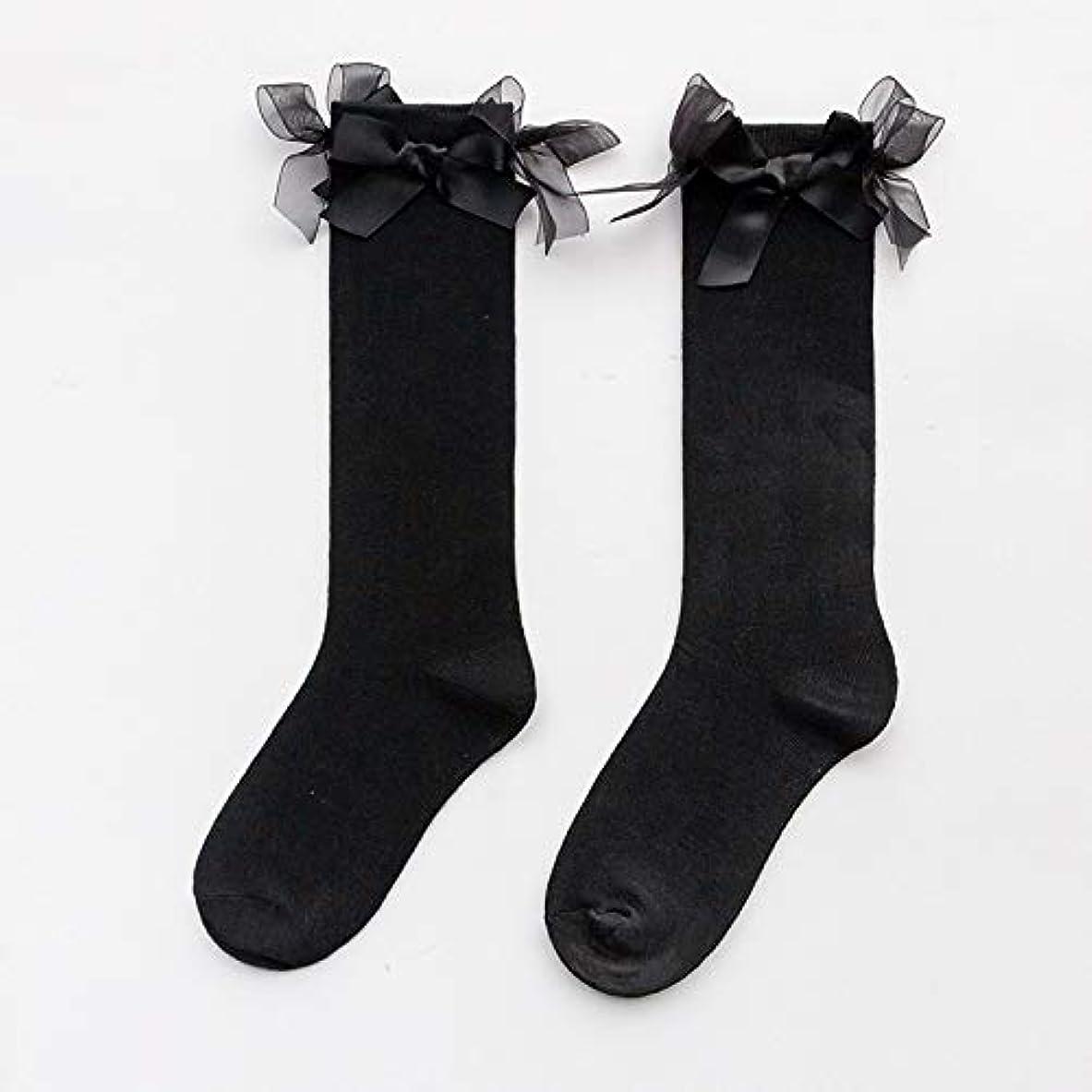ブランド名改修計画日本の女の子弓綿の靴下ソックスjk大学風韓国原宿野生の基本的な学生パイルパイルソックス女性