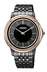[シチズン] 腕時計 エコ・ドライブ ワン メタルバンドモデル AR5054-51E メンズ ブラック