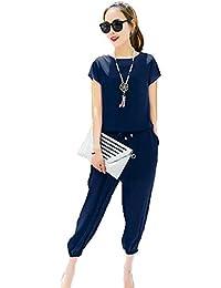 アイビエツ(AIBIETU) レディース ファッション シフォン シャツ 上品 パンツスーツ 上下 2点セット 仕事 セットアップ パンツ