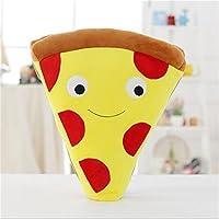 Liebeye シミュレーション食品ぬいぐるみ 柔らかい面白いぬいぐるみクリエイティブなシミュレーションピザと揚げ物ぬいぐるみの枕の祭りの装飾ソファのクッションの誕生日の贈り物 50センチピザ