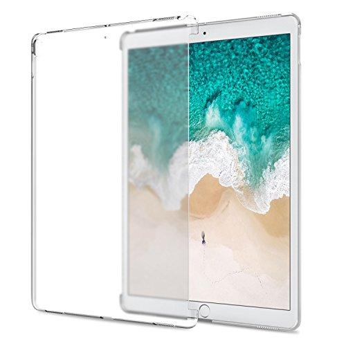 ATiC New iPad Pro 12.9 2017/ iPad Pro 12.9 2015用 半透明PC製ケース 公式キーボードコンパチ 透明
