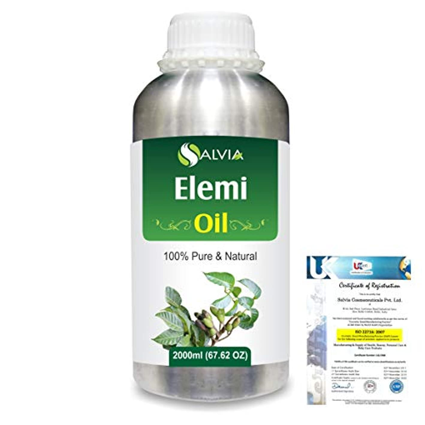 Elemi (Canarium vulgare) 100% Natural Pure Essential Oil 2000ml/67 fl.oz.