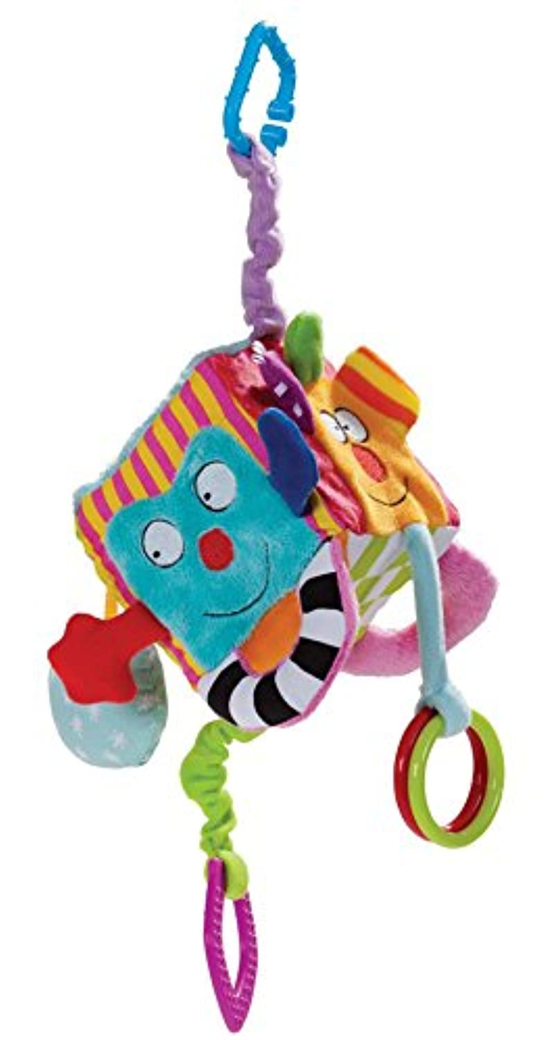 Cute Baby RattlesおもちゃCartoon AnimalキューブBook PlushボールTeether Toys for Children NewbornsソフトBooksベビーカーHanging Rattles 0 – 12