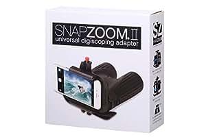 SNAPZOOMⅡ ユニバーサル・スコーピング・アダプター  iPhone、アンドロイド対応 双眼鏡、単眼鏡、天体望遠鏡、顕微鏡など接続可能