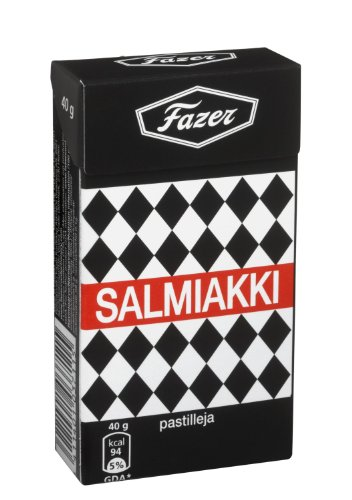 Fazer サルミアッキ SALMIAKKI 40g×5箱セット