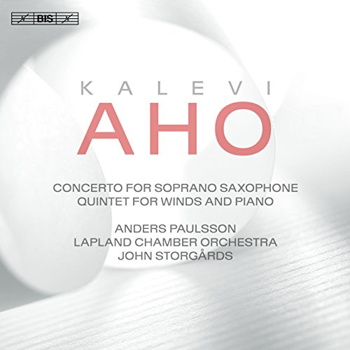 Aho: Concerto for Saxophone