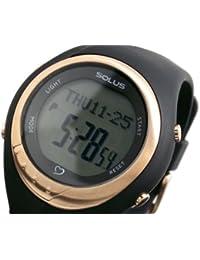 [ソーラス] SOLUS 心拍計測機能付き デジタル 腕時計 01-300-01【国内正規品】