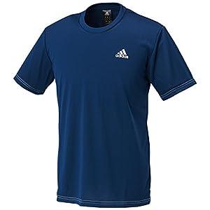 (アディダス) adidas トレーニングウェア BASIC ワンポイント半袖Tシャツ DJF43 [メンズ] BR1312 カレッジネイビー/ホワイト J/L