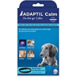 Adaptil DAP (Dog Appeasing Pheromone) Odorless Adjustable Calming Collar for Small and Medium Dogs That Fits Puppies Neck Size Up to 14.7 Inches. Good Supplies for Relax and Calm. Treatment for Dogs