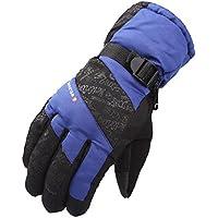 大人用手袋の冬暖かい防水防風 防寒 耐磨 雪遊び幸運な太陽アウトドードスノーボードスキースポーツグローブ秋冬