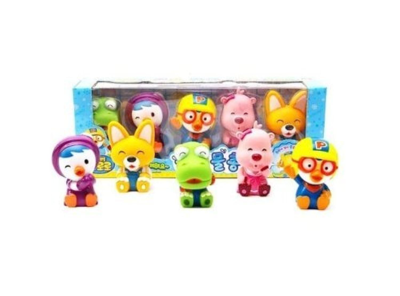 Pororo & Friends Bath Toy by Pororo [並行輸入品]