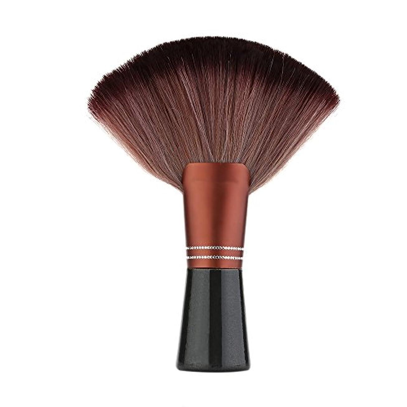 放射性郵便番号数学的なDecdeal 理髪ブラシ ネックブラシ 理髪師 ヘアブラシ 毛払いブラシ 髪切り 散髪用ツール