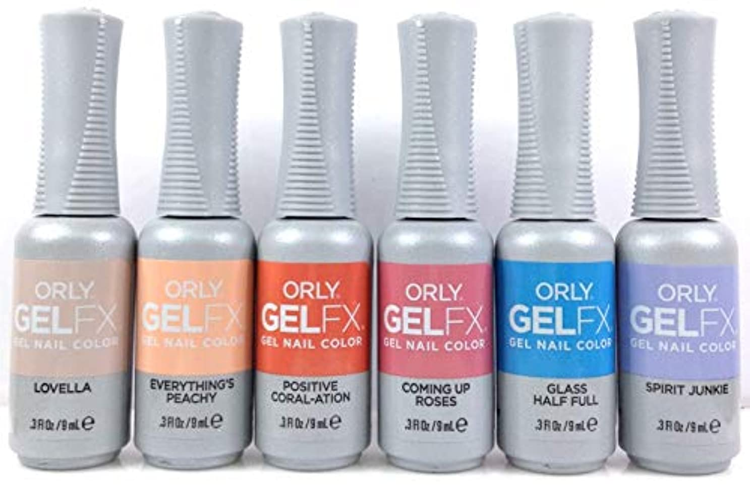 義務付けられたミッション機械的Orly Gel FX - Radical Optimism 2019 Collection - ALL 6 Colors - 0.3oz / 9ml EACH