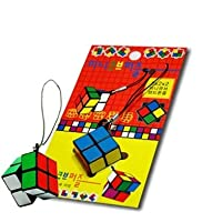 Korea Toy - 2x2x2 Mini cube cellphone Ring