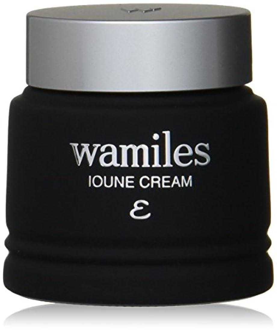 洗練縞模様の明確にwamiles/ワミレス ベーシックライン イオーヌ クリーム (全ての肌用) 53g