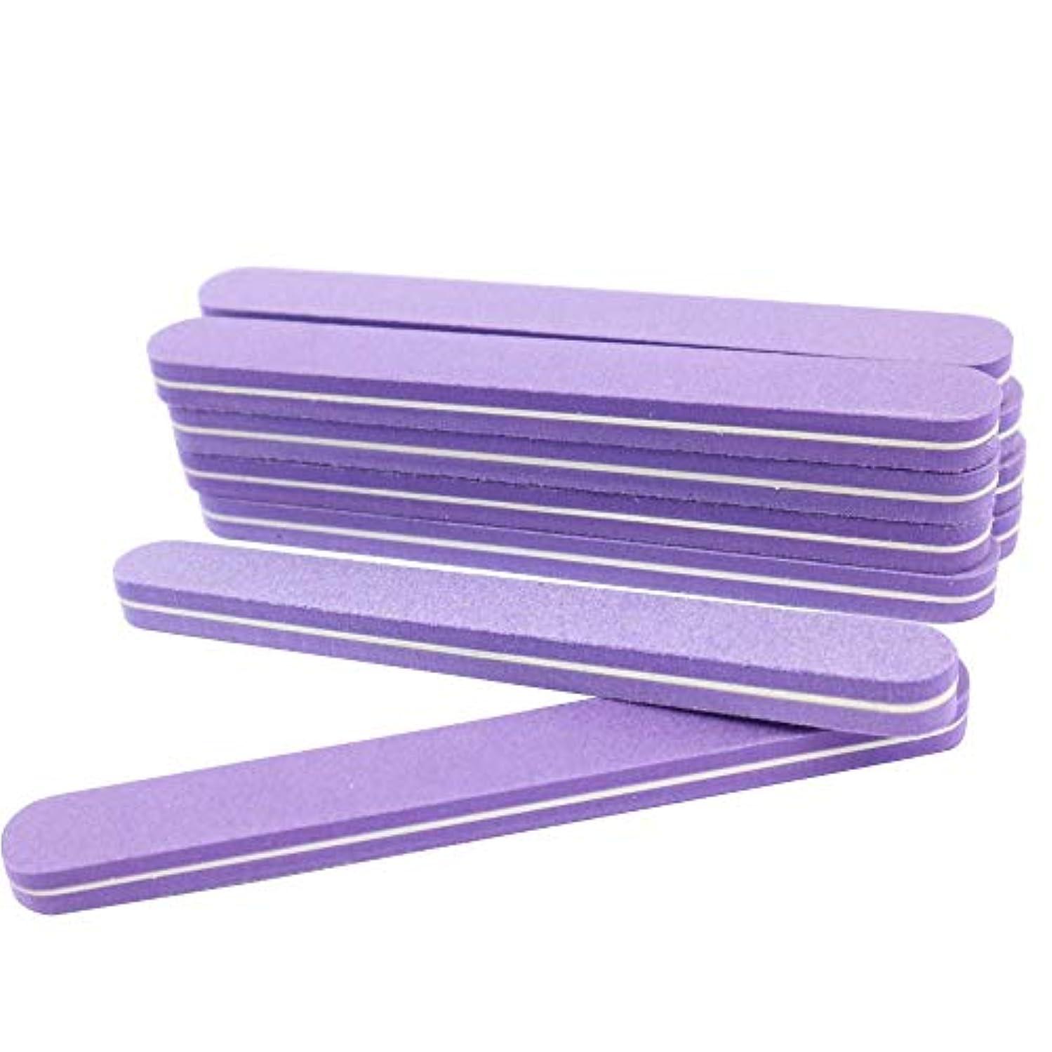 怠惰プログラム上げる(値下げ)ネイル用 2WAYシャイナー 10本セット おうちで爪磨き 選べる2タイプ (形状:ストレート)