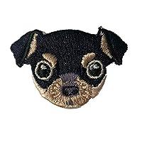 素敵な刺繍ペット犬のホット布の子供服DIYの装飾修理の穴のステッカー (チワワ)