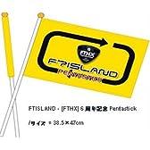 FTアイランド [FTHX]6周年記念公式グッズ【Pentastick 旗】