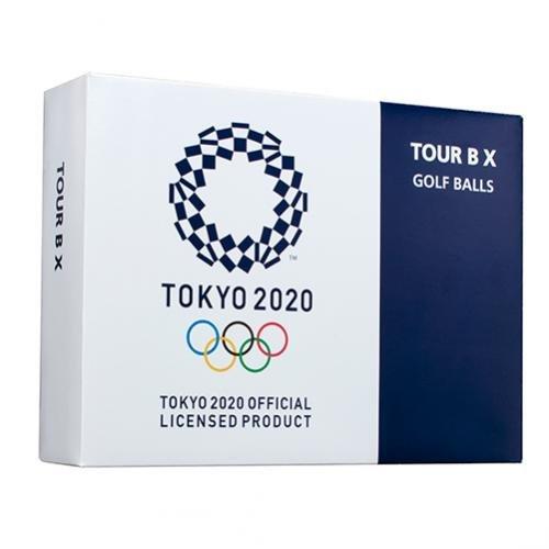 TOKYO 2020 オリンピック エンブレム ゴルフボール TOUR B X 12個(1ダース) 東京 OLYMPIC