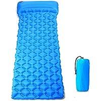 超軽量の眠っているパッド、枕が付いている自己膨張のキャンプのパッド、ハイキング旅行
