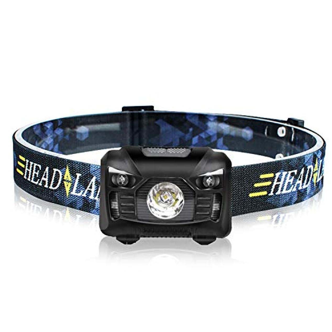 溶けた好きであるアイドルKAEDE LED ヘッドランプ ヘッドライト LED 防水 センサー機能 ネックライト アウトドアライト 250ルーメン 30時間点灯 防水防災 自転車ライト ランキング キャンプ 夜釣り 登山 夜作業など最適 ブラック