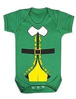 Reality Glitch Elf Buddy Costume 新生児服 (12-18 Months, アイリッシュグリーン)