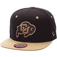 (Colorado Buffaloes, Adjustable Size, Black/Team Color) - Youth Z11 Phantom Snapback Hat
