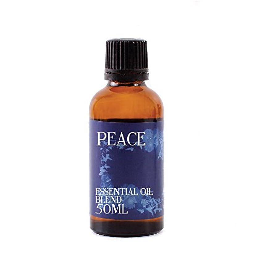 可愛い振りかける活気づけるMystic Moments | Peace Essential Oil Blend - 50ml - 100% Pure