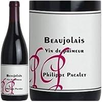 新酒/[Philippe Pacalet]フィリップ・パカレ、ボジョレー・プリムール 2018 赤ラベル (赤) 750ml 航空便 / 自然派