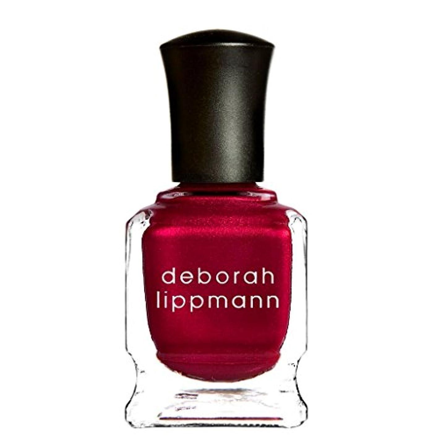 詐欺師シャー銃[Deborah Lippmann] [ デボラリップマン] レッドシルクボクサー (RED SILK BOXERS) クリムゾンカラー ネイルカラー系統:レッド 15mL