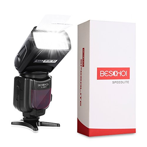 スピードライト ストロボ フラッシュ Canon/Nikon/Pentax/Olympusなどのデジタル一眼レフカメラ対応 Beschoi L541