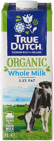 True Dutch Organic Whole Milk, 1 l