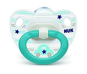 NUK おしゃぶり ハッピーデイズ(キャップ)/S/くるま OCNK10101108