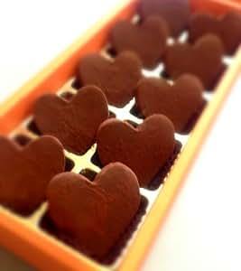 ハートの生チョコレートギフト10個入