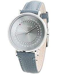 b57c88cca8 [フルラ]FURLA 腕時計 ジャーダ デイト GIADA DATE 36mm グレーシルバー×ブルー ...