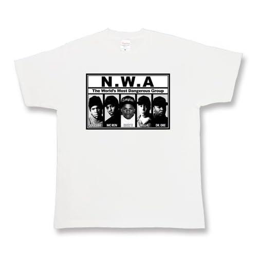 N.W.A メンズ レディース ユニ 半袖Tシャツ