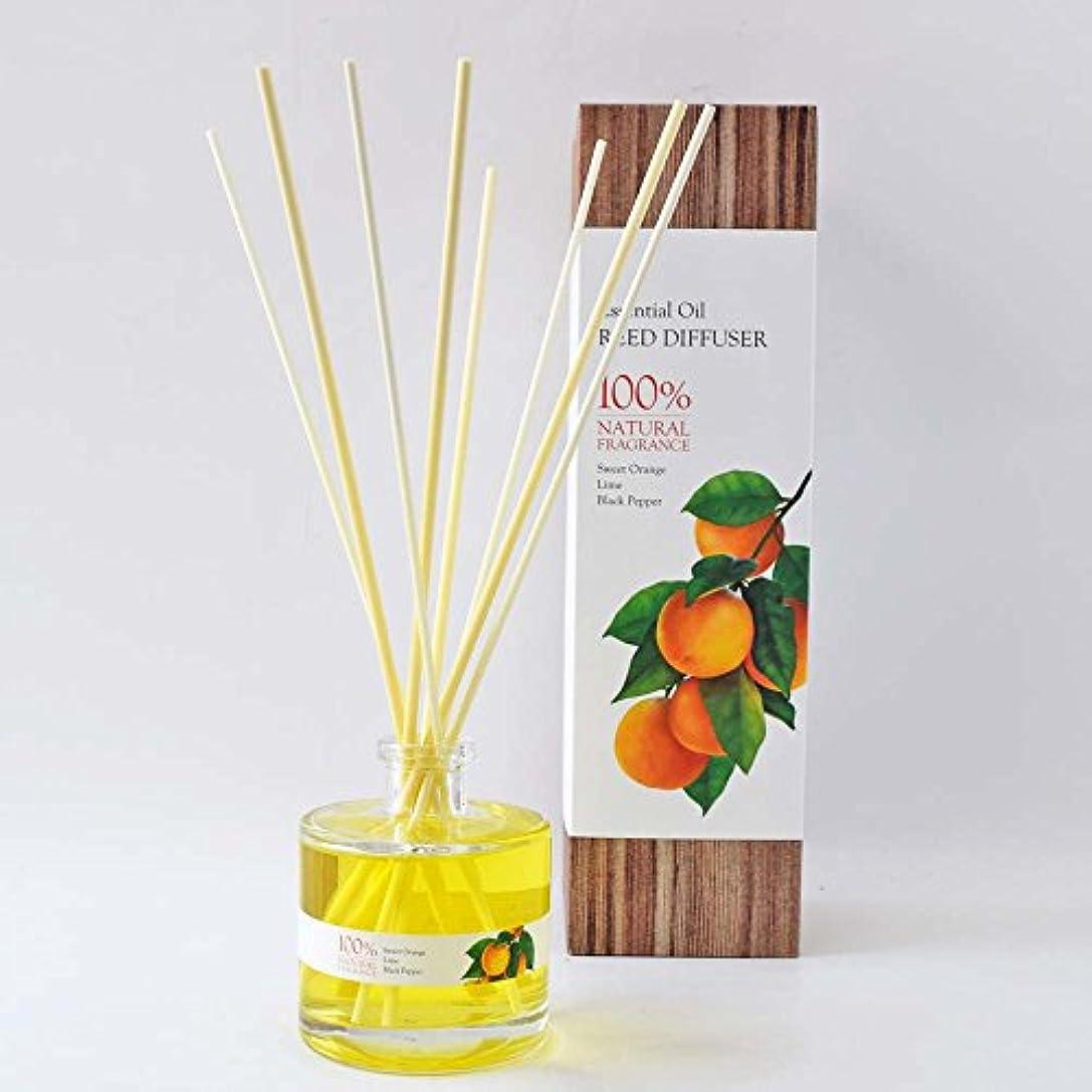 居心地の良い彫刻家世辞リードディフューザー スィートオレンジ