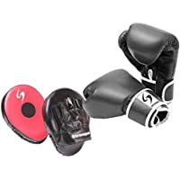 PURE RISE(ピュアライズ) ボクシンググローブ 16オンス パンチングミットセット